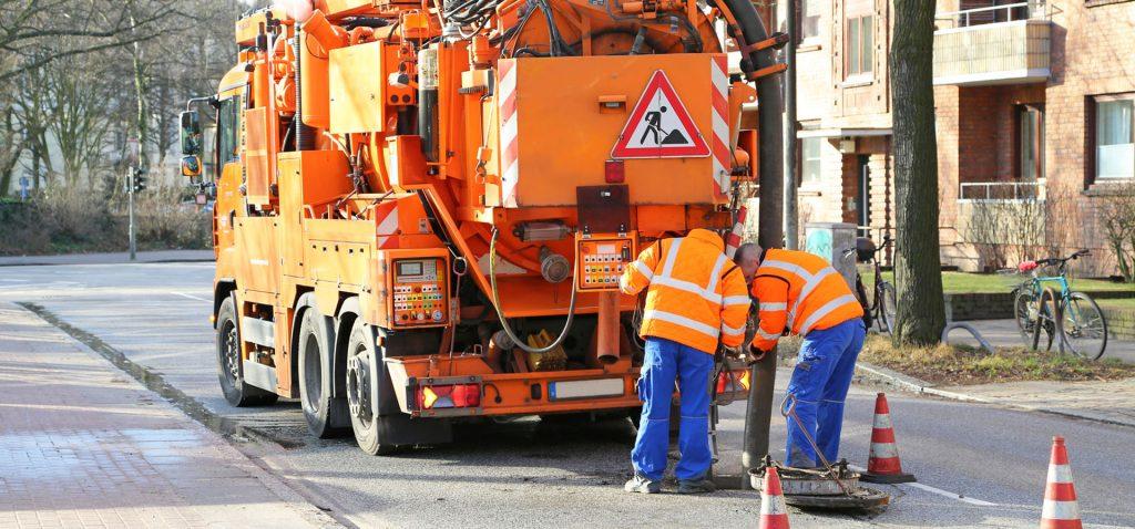WUKO udrażnianie wysoko ciśnieniowe kanalizacji pojazd